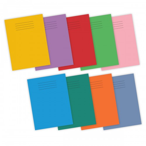 Super Saver 9x7in (229x178mm) Exercise Books