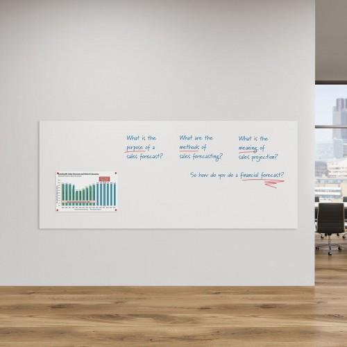 WriteOn Frameless Magnetic Drywipe Whiteboards