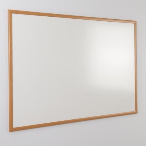 WriteOn Light Oak Effect Eco-friendly Drywipe Whiteboards