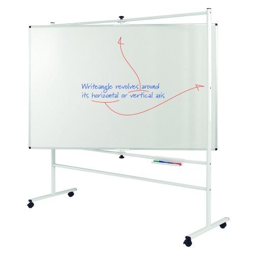 WriteOn Writeangle Mobile Drywipe Whiteboards
