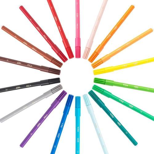 Felt Colouring Pens
