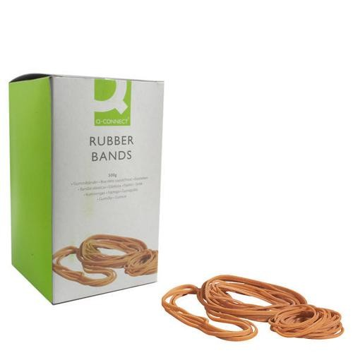 Q-Connect Rubber Bands No.89 152.4 x 12.7mm 500g