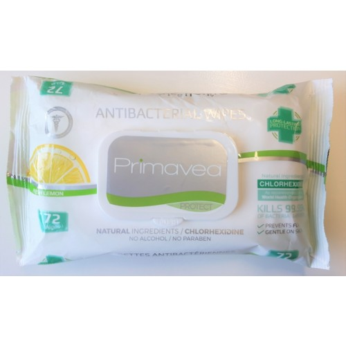 Anti-Bacterial cleaning wipes 99.9% safe, 72 pack