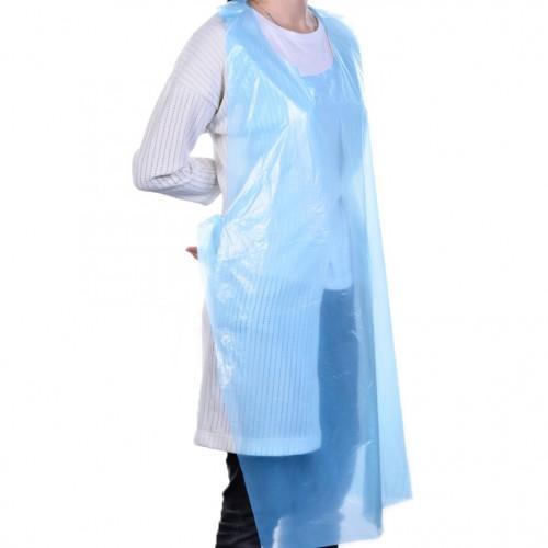 Polyethylene Apron Blue