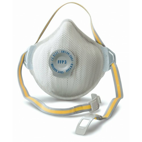FFP3 Respiratory Mask - Compliant to EN149:2001+A1:2009 & CE approved 50 Times Protection against Virus & Air Particles