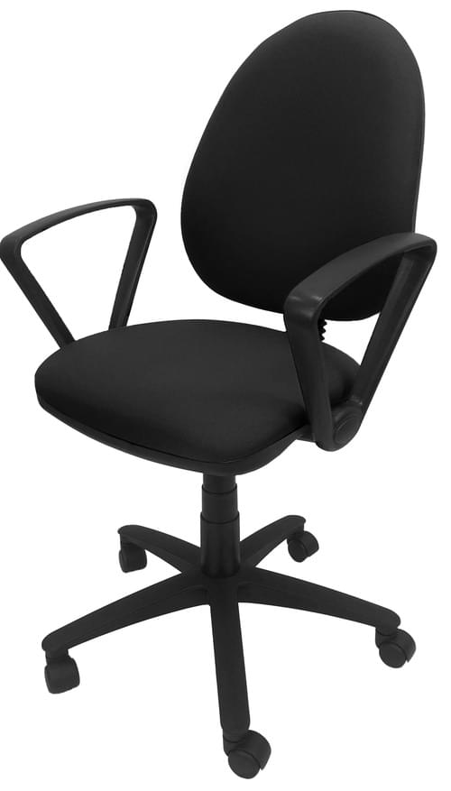 PRO-SIT 1 High Back Operators chair with Fixed Arms - Black CSE14
