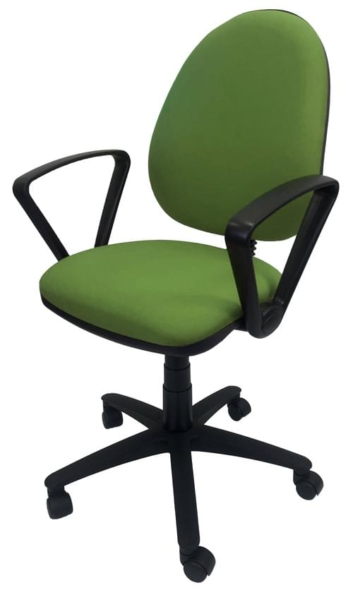 PRO-SIT 1 High Back Operators chair with Fixed Arms - Green CSE18