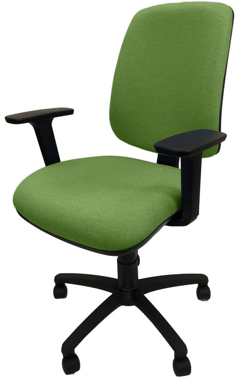 PRO-SIT 2 High Back Operators chair with Height Adjustable Arms - Green CSE18