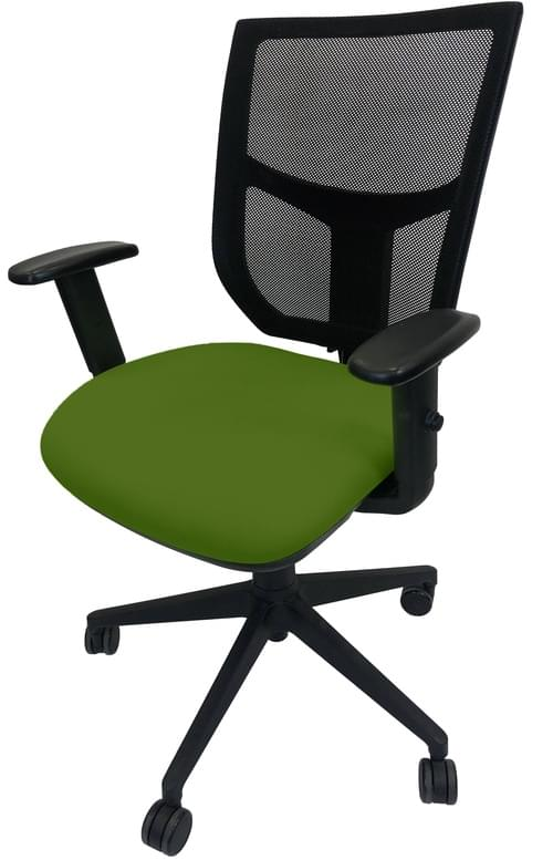 PRO-SIT 4 Mesh Back Operators chair with Height Adjustable Arms - Green CSE18