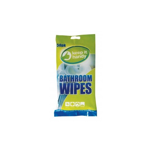 BATHROOM CLEANING WIPES HANDY PACK