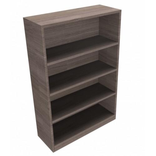 CLASSIC Bookcase Unit 1200mm high x 800mm wide x 300mm deep  - English Walnut