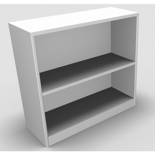 CLASSIC Bookcase Unit 740mm high x 800mm wide x 300mm deep  - White
