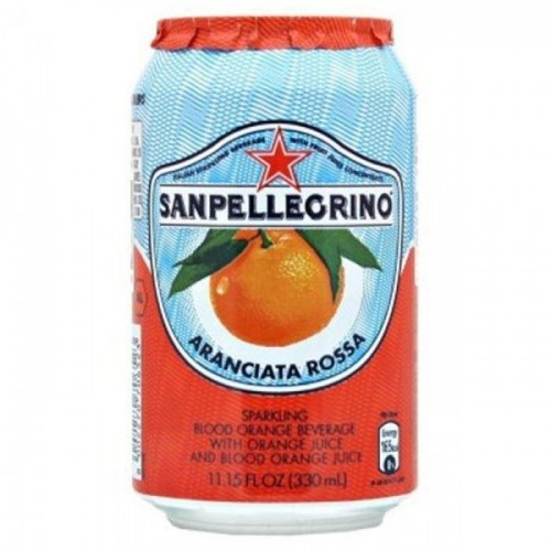 Sanpellegrino Aranciata Rossa 330ml cans  case of 24