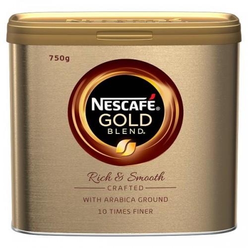 Nescafé Gold Blend Golden Roast 750g x6 tins catering pack (201902)