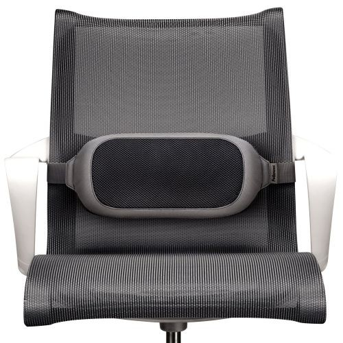 Fellowes I-Spire Series Lumbar Cushion Black 8042201