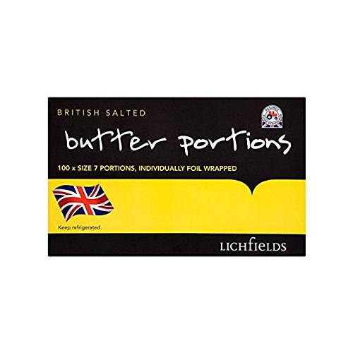 Lakeland Butter Portions x 100  (231892)