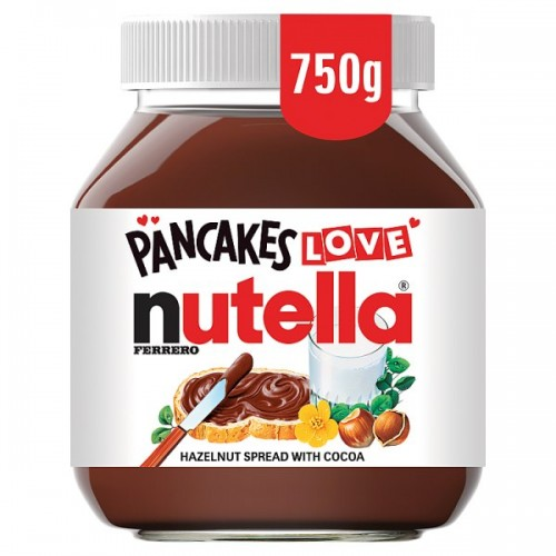 Nutella Ferrero Hazelnut Spread with Cocoa 750g case of 6