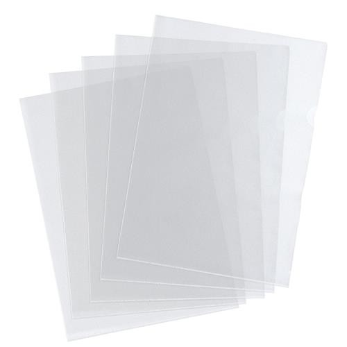 A4 Clear Recycled PET Clear Binding Covers 300 micron Pack 100