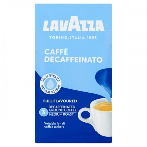 Lavazza Caffè Decaffeinato Ground Coffee 250g Single