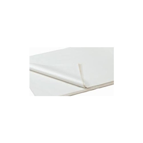 Tissue Paper White Acid Free 500mm x 750mm Pk480  18gsm
