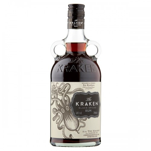 The Kraken Black Spiced Rum 70cl