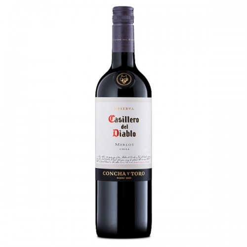 Casillero del Diablo Merlot  Case of 6 x 75cl