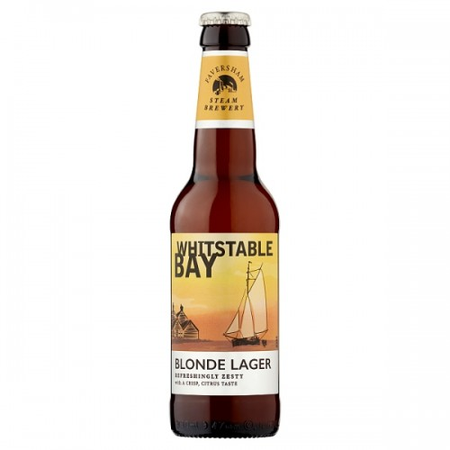 Faversham Steam Brewerty Whitstable Bay Blonde Lager 330mll Case of 12