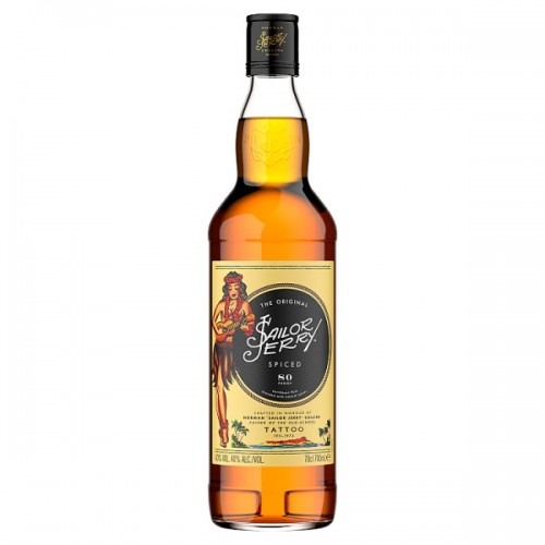 Sailor Jerry Spiced Caribbean Rum 70cl