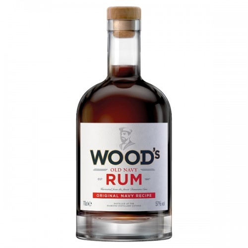 Woods® 100 Old Navy Rum 70cl