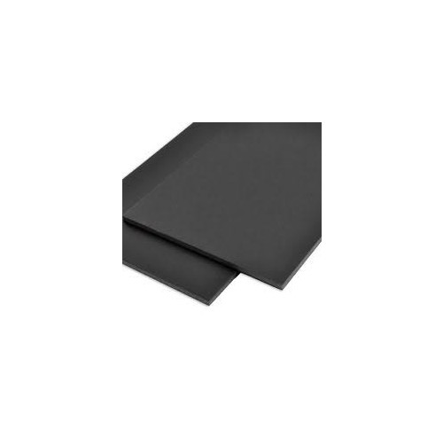 Foamboard 30x40 5mm Black 1016x762  WF7040
