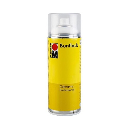 Buntlack (210118028)  Yellow Ochre 400ml Satin Matt 028 Spraypaint