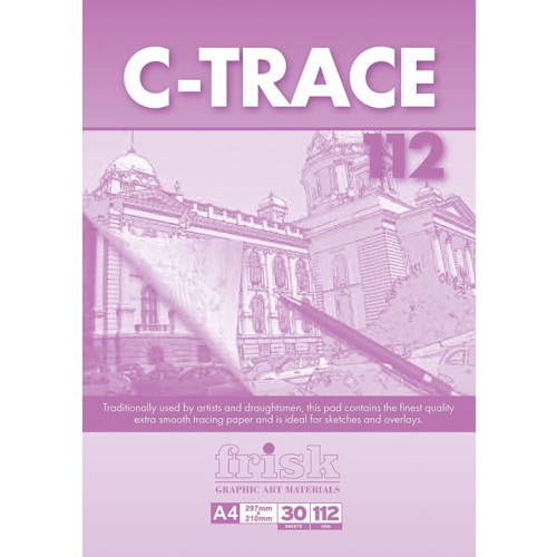 Frisk A1 C- Trace Pad 112gsm  30s