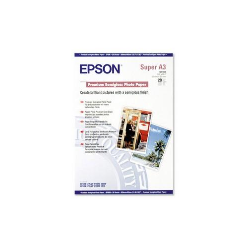 Epson Premium Semigloss Photo Paper C13S041328 A3+ pk 20 251gsm