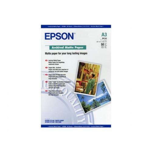 EPSON S041344 A3 Archival Matt PPR 192gsm pk50 C13S041344