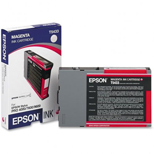 Epson Stylus Pro 4000/ 4400/ 7600/ 9600 UltraChrome Ink - 110ml - Magenta