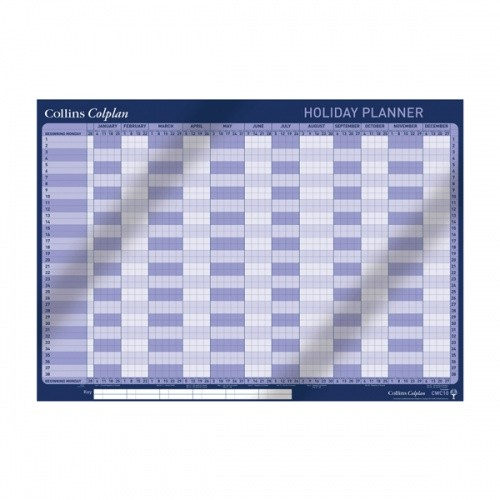 Collins Colplan 2020 Holiday Planner