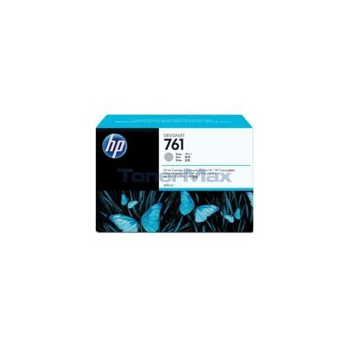 HP No. 761 Ink Cartridge - Gray - 400ml