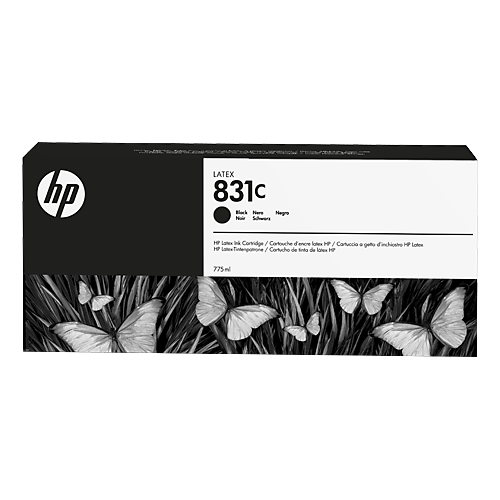 HP L300 No. 831C Latex Ink Cartridge Black - 775ml CZ694A