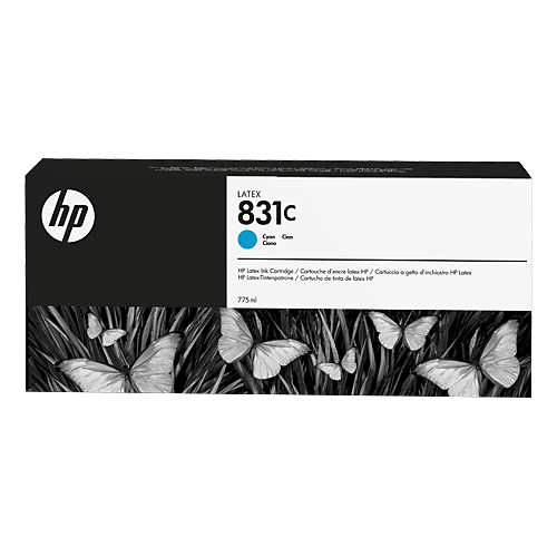HP L300 No. 831C Latex Ink Cartridge Cyan - 775ml  CZ695A