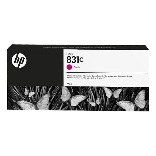 HP L300 No. 831C Latex Ink Cartridge Magenta - 775ml  CZ696A