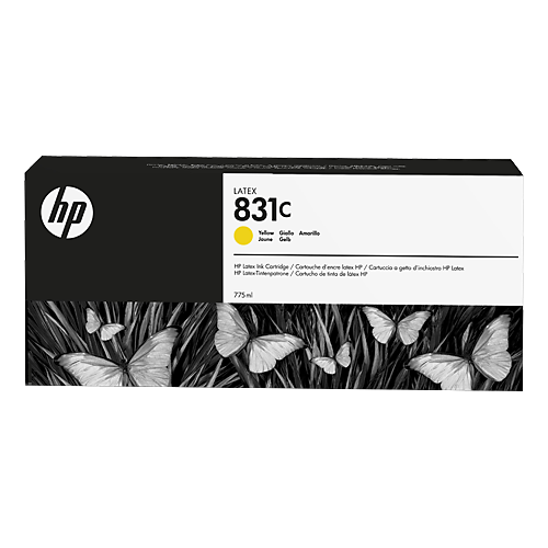 HP L300 No. 831C Latex Ink Cartridge Yellow - 775ml  CZ697A