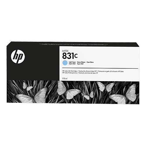 HP L300 No. 831C Latex Ink Cartridge Light Cyan - 775ml  CZ698A