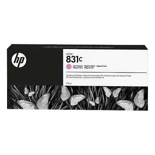 HP L300 No. 831C Latex Ink Cartridge Light Magenta - 775ml  CZ699A