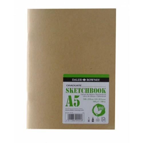 Daler Graduate Eco Softcover Stapled Sketchbook A3 160gsm 20s