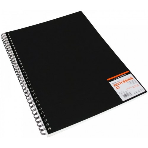 "Daler Graduate Jumbo Spiral Sketchbook 8 x 8"" (435460808) 160gsm 46s"