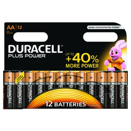 Duracell Plus Battery AA Pk 12 81275378