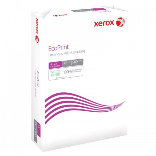 Xerox Ecoprint A4 210 x 297mm 75gsm  - Single Pack of 500 sheets