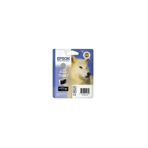Epson T0967 Light Black Inkjet Cartridge For Stylus Photo R2880 11.4ml T096740 C13T09674010
