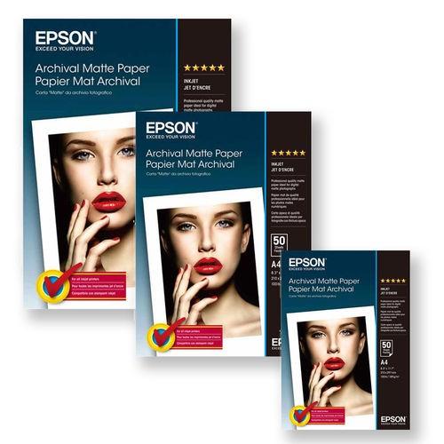 EPSON S041342 A4 Archival Matte PPR 192gsm PK50