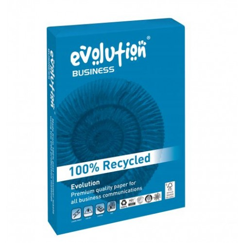 Evolution Business Paper A4 120gsm White Pk 250 EVBU21120